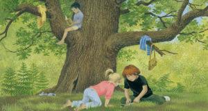 Particolare della copertina de «La grande quercia»