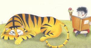 Una delle illustrazioni del libro «La tigre di Anatolio»
