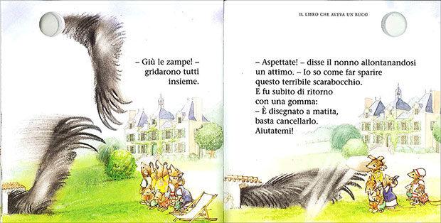 Libri per bambini con i buchi