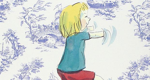 Libri per bambini senza stereotipi: particolare della copertina del libro «Luna e la camera blu» (Babalibri)