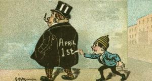 Il 1 aprile si fa il pesce d'aprile