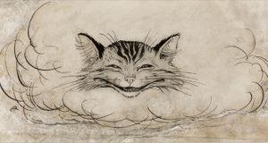 Una rappresentazione dello Stregatto o Gatto del Cheshire