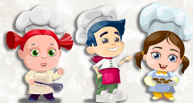 I libri di cucina per bambini