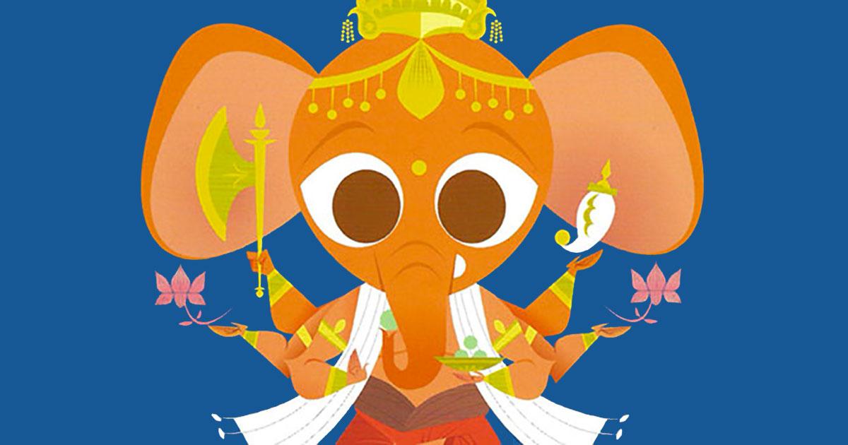 Sanjay Patel, Il piccolo libro delle Divinità Induiste. Dalla Dea della prosperità alla Mucca sacra
