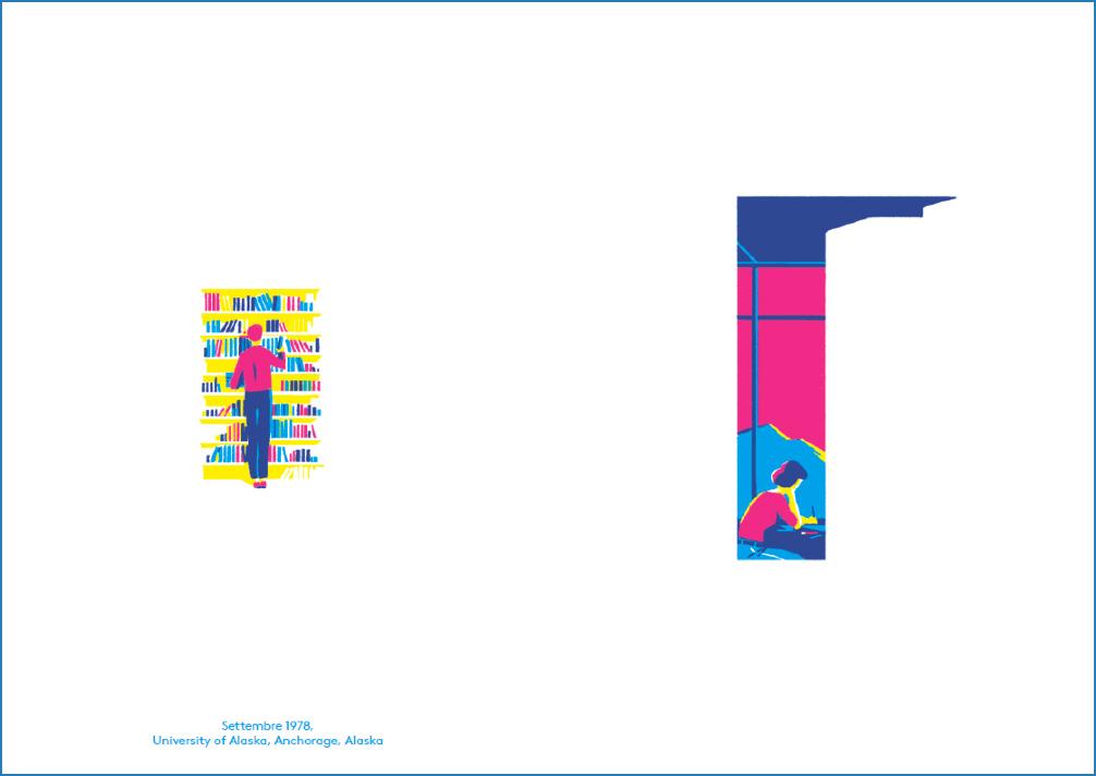 Dettaglio di una pagina del libro Nello spazio di uno sguardo
