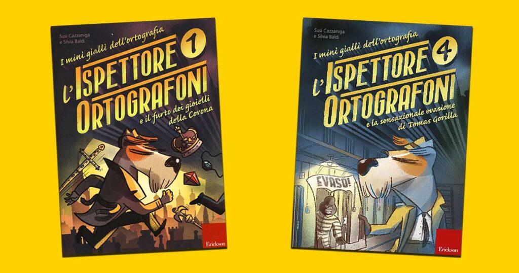L'ispettore Ortografoni e i mini gialli dell'ortografia