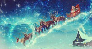 Come si chiamano le renne di Babbo Natale